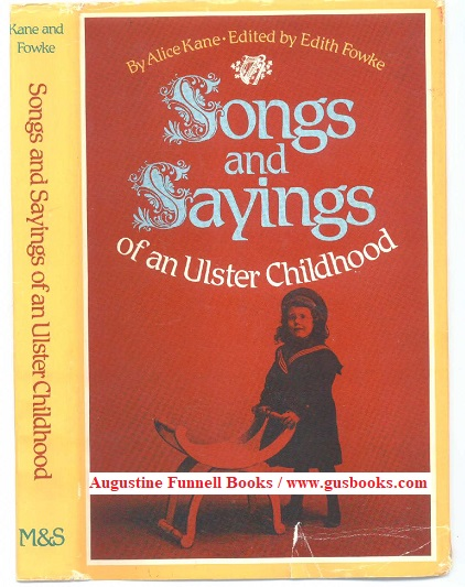 Image for Songs and Sayings of an Ulster Childhood (signed)
