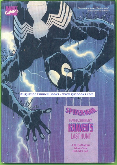 Image for SPIDER-MAN (Spiderman), Fearful Symmetry:  Kraven's Last Hunt (signed by Zeck)