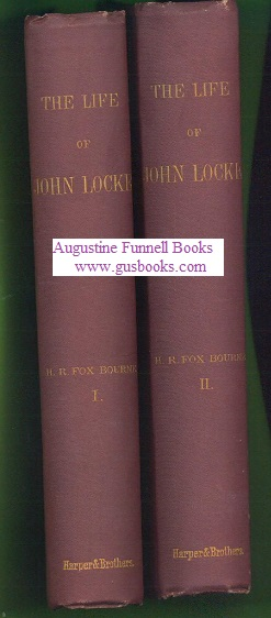 Image for The Life of John Locke (2 volumes)