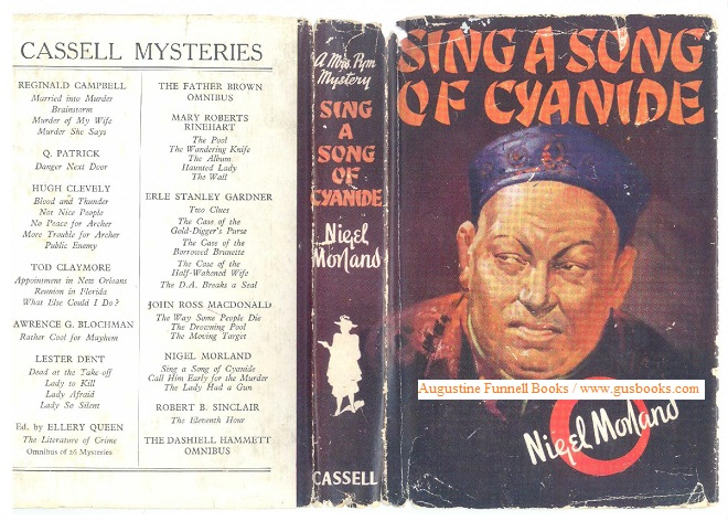 Image for Sing a Song of Cyanide