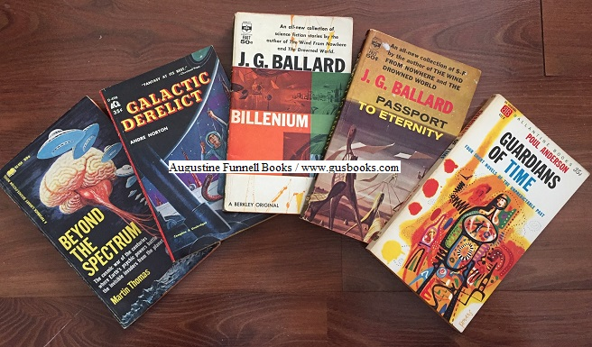 Image for An AFB 5-book SF multi-pack:  Guardians of Time, Billenium, Passport to Eternity, Galactic Derelict, Beyond the Spectrum