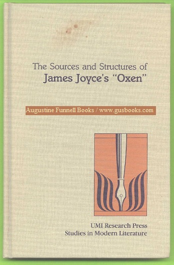 "Image for The Sources and Structures of James Joyce's ""Oxen"""