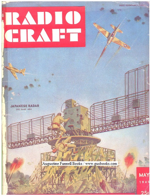 Image for RADIO CRAFT, Lot of 3:  February/Feb. 1944/'44, September/Sept. 1944/'44, May 1945/'45