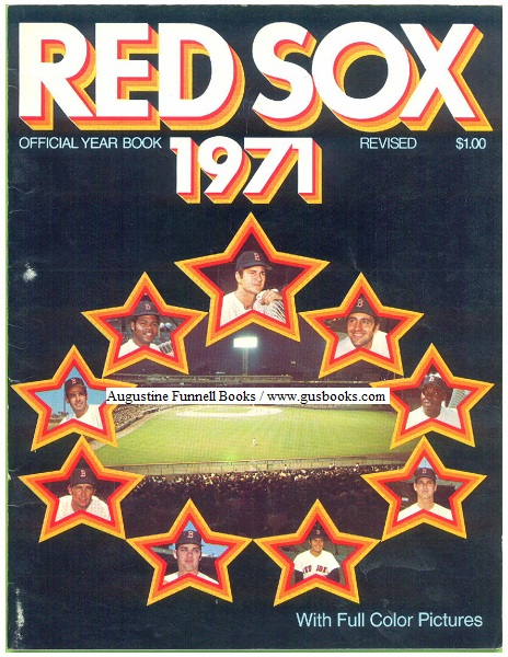 Image for Red Sox Official Year Book (Yearbook) 1971, Revised