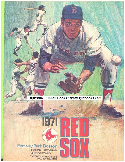 Image for Red Sox 1971 Official Program & Scorecard