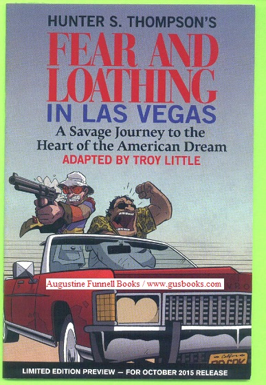 Image for FEAR AND LOATHING IN LAS VEGAS, A Savage Journey to the Heart of the American Dream