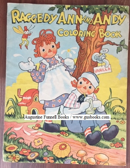 Image for Raggedy Ann and Andy Coloring Book
