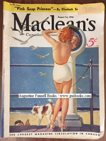 Image for MacLEAN'S, Canada's National Magazine, August 1, 1936, Vol. 49, No. 15