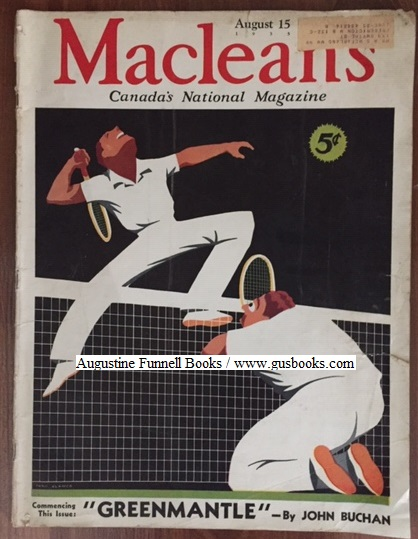 Image for MacLEAN'S, Canada's National Magazine, August 15, 1935, Vol. 48 No. 16