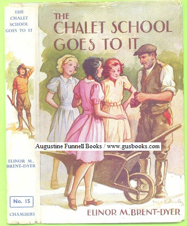 Image for The Chalet School Goes To It