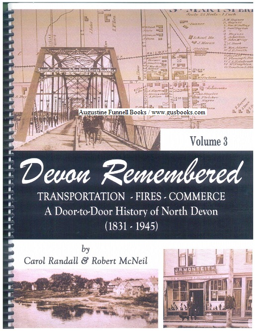 Image for DEVON REMEMBERED, Transportation--Fires--Commerce, A Door-to-Door History of North Devon (1831-1945) Volume 3