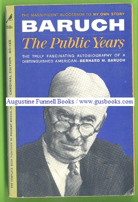 Image for BARUCH The Public Years
