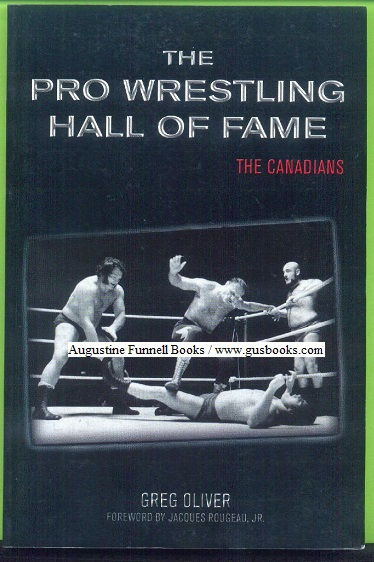 Image for The Pro Wrestling Hall of Fame, The Canadians (signed)