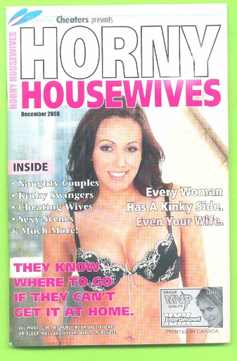 Image for Blueline Cheaters presents HORNY HOUSEWIVES, December 2008