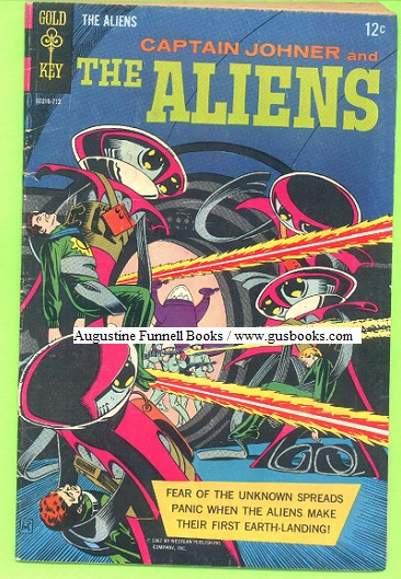 Image for Captain Johner and the Aliens, No. 1