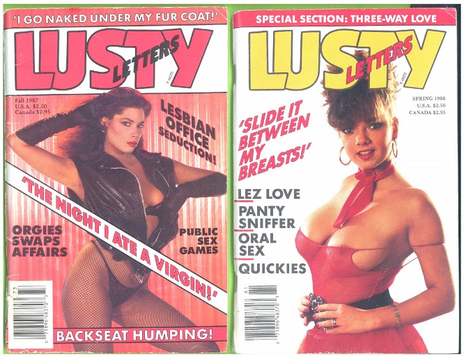 Image for Lusty Letters, 2 issues (Fall 1987 and Spring 1988)