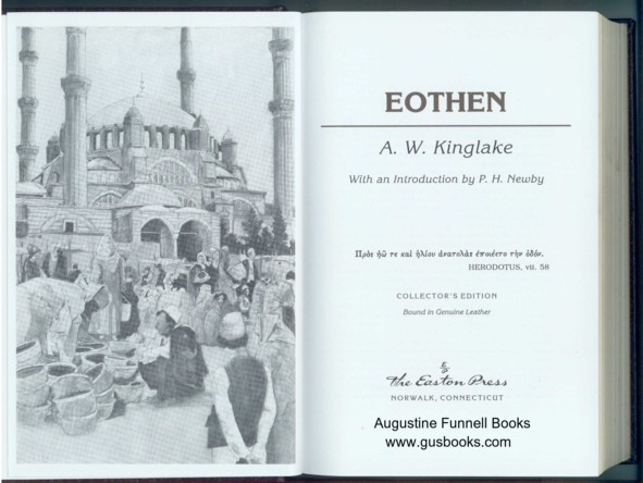 Image for Eothen
