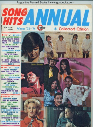 Image for Song Hits Annual, Winter '73-'74 (1973-1974)