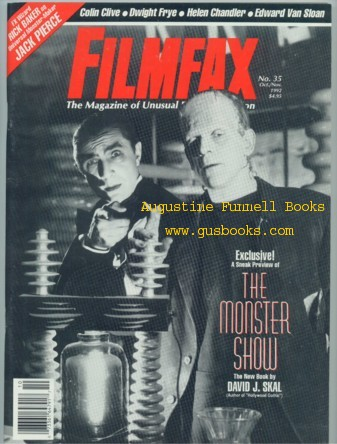 Image for FILMFAX, The Magazine of Unusual Film and Television, October Oct./November Nov. 1992, No. 35