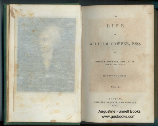 Image for The Life of William Cowper, Esq., in Two Volumes