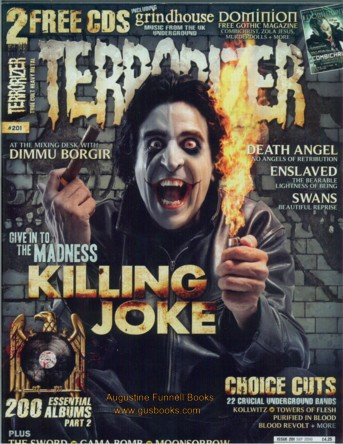 Image for Terrorizer #201, September/Sept. 2010, incorporating Dominion #6