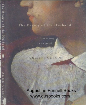 Image for THE BEAUTY OF THE HUSBAND, a fictional essay in 29 tangos