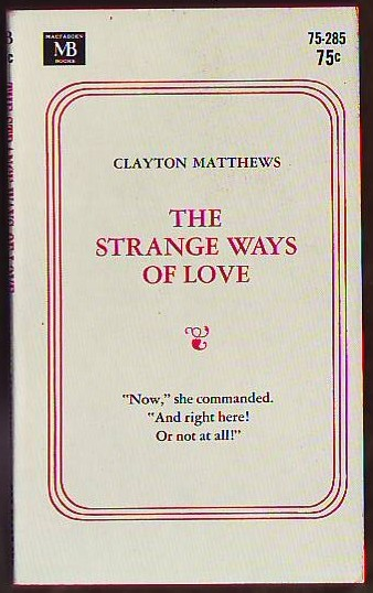 Image for The Strange Ways Of Love