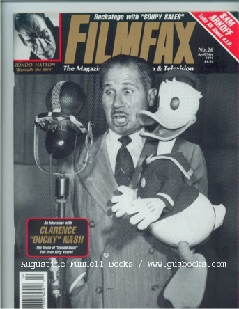 Image for FILMFAX, The Magazine of Unusual Film and Television, April/May 1991, No. 26
