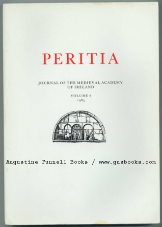 Image for PERITIA, Journal of the Medieval Academy of Ireland, Volume/Vol. 4