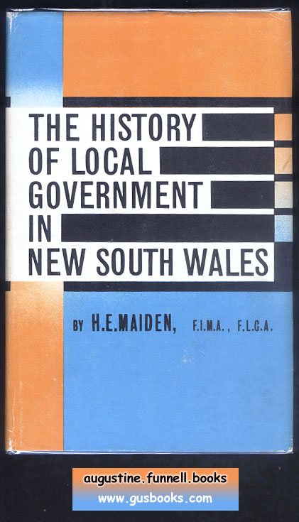 Image for The History Of Local Government In New South Wales